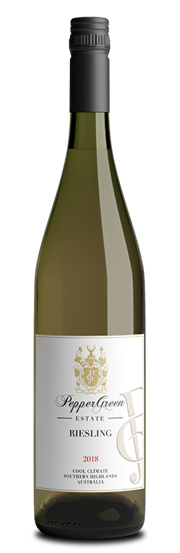 PepperGreen Estate Riesling 2018