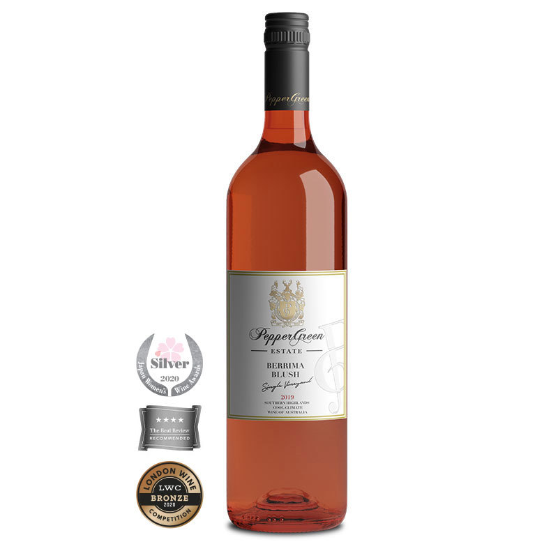 PepperGreen Estate 2019 Berrima Blush Rosé